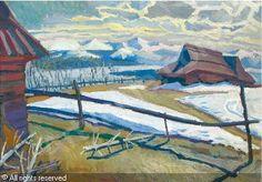 KAMOCKI Stanislaw (Stanislav), 1875-1944 (Poland) Title: Tatras