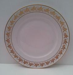 """Richard Ginori Aosta - Dinner Plate 10 3/8"""" - White with Gold Banding #RichardGinori"""