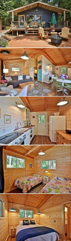 Holmes Harbor Cabin | This would be *just* perfect. Oh, i love it!