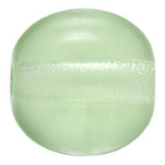 6mm Peridot Round Czech Pressed Glass Bead | Fusion Beads