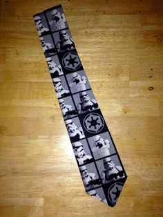 Starwars necktie by SewItFitsSeamstress on Etsy