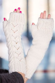 Free Shipping Tiffy Mohair Gloves Mittens Thick Soft Warm 100 % Wool T550 #TiffyM0hair