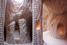 For Sale: Spacious Hand-Carved Cave Cathedral