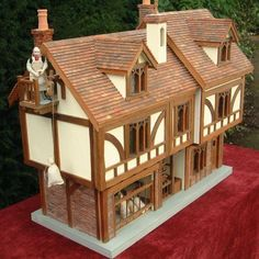 Again...love doll houses! Why couldn't I have had one like this as a kid?