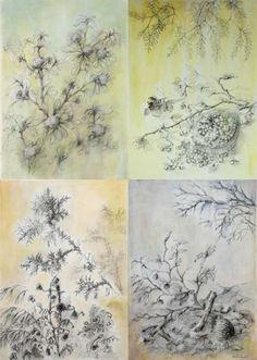São Mamede - Art Gallery  Emilia Nadal Calendário 4 Estações - 154)11 2015 x Canvas 140 cm x 100 cm  #EmiliaNadal #Painting at #SãoMamede #Art #Gallery #artwork