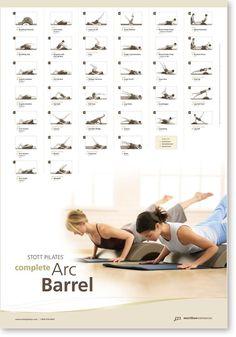 STOTT PILATES Wall Chart - Complete Arc Barrel