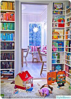 bibliotek,julpynt,kök,hyllor,bokhyllor