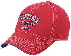 130dd266835 Washington Capitals Reebok NHL 990 Established Baseball Hat Washington  Capitals