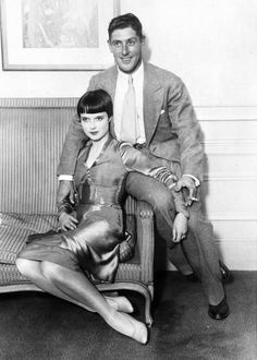 Louise Brooks and Edward Sutherland (ex-husband)?