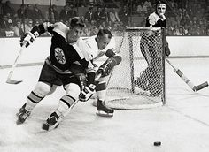 Gordie Howe and Bobby Orr: the two greatest players of all time going head to head.