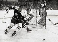 Bobby Orr and Gordie Howe