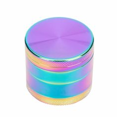 Tobacciana Collectibles 3 Piece Herb Spice Alloy Smoke Crusher 40mm Tobacco Grinder Casino Chip Bright And Translucent In Appearance
