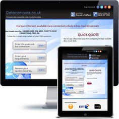 Data Compare company website built with PHP/HTML, JQuery using responsive web design.