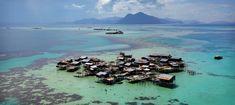 Bajau village, Tun Sakaran Marine Park, Sabah Malaysia   Photos by Timothy Allen