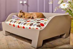 Raised Wooden Dog Bed – Charley Chau - luxury dog beds & blankets