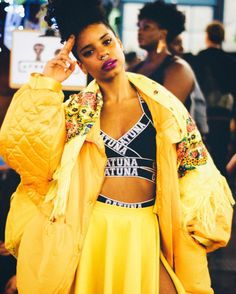 Beauty And Fashion Inspiration From Afropunk London