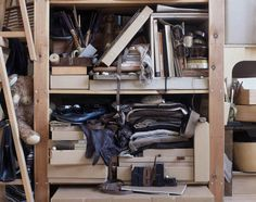 Helga Steppan, 'All my things, /brown/' from the series 'See Through', 2004 by Man, via Flickr