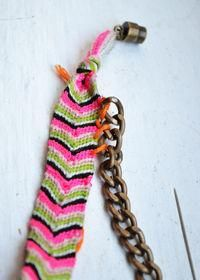 DIY Dannijo Friendship Bracelet - DIY Jewelry DIY Bracelet