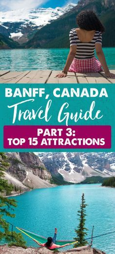 Banff National Park is filled with a ton of beautiful gems to experience. Here are 15 Banff attractions we enjoyed during our short trip. Tour Du Canada, Canada Vancouver, Alberta Canada, Banff Canada, Canada Canada, Canada Trip, Ottawa, Places To Travel, Travel Destinations