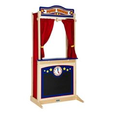 Wooden Puppet Theater - a fun way to promote interaction and storytelling in the classroom. @School Outfitters