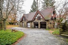 1908 carriage house in Yonkers, NY. Carriage House Garage, Pole Barns, Toy Storage, Perfect Place, Shops, Real Estate, Cottage, Houses, Cabin