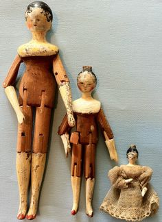 Further Speculations involving Wooden Bodied Parian Dolls by Caty Hancox - Dolls' Houses Past & Present