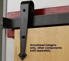 barn door hanger to hang my gg-grandmother's door in the new house!