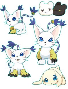 Gatomon is so cute!