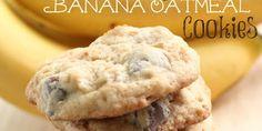 Chocolate Chip Banana Oatmeal Cookies Recipe