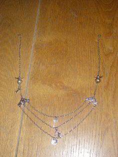 three rows necklace