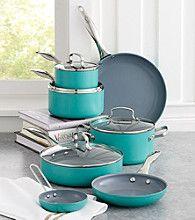 Fiesta® Aluminum 11-pc. Turquoise Cookware Set
