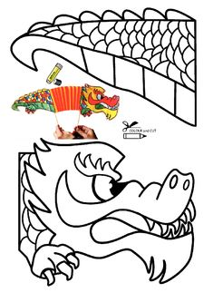 Dragon chinese new year Chinese New Year Crafts For Kids, Chinese New Year Dragon, Chinese New Year Activities, Chinese Crafts, New Years Activities, Art For Kids, Activities For Kids, New Year's Crafts, Diy Crafts For Kids
