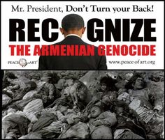 O promised to recognize the Armenian Genocide by Turkey in 2008, but Egypt's interim leader beat him to it and announced that Egypt would be recognizing the Armenian Genocide perpetrated by Turkey.