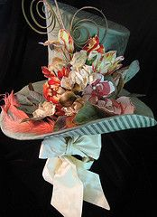 If I were the mad hatter, Hat by Terisa Brooks-Huddleston