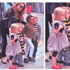 Pretty Kids Week ;-) Spotted: a pequena Vivienne Jolie Pitt com as suas Pretty Ballerinas.