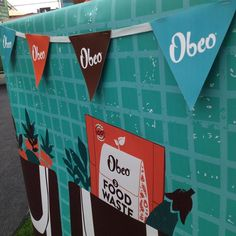 Part of the Obeo stand at Bloom 2016 in Dublin's Phoenix Park. Bloom 2016, Food Waste, Exhibit, Dublin, Phoenix, Recycling, Park, Parks, Repurpose