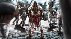 Assassins Creed in Brazil Game Art