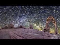 Planetary Panoramas: 360 Degree Night-Sky #TimeLapse