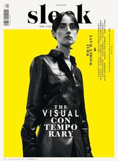 Sleek cover design