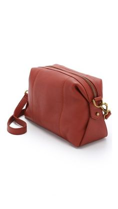 Madewell The Mini Cross Body Glasgow Satchel. Just add a monogram in gold and done