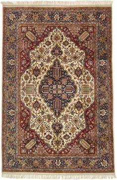 Red 6' 7 x 10' Tabriz Oriental Rug | Oriental Rugs | eSaleRugs