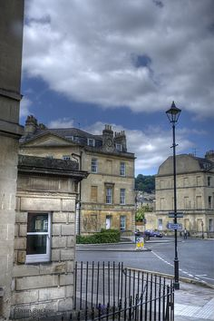 Leaving Bath, England