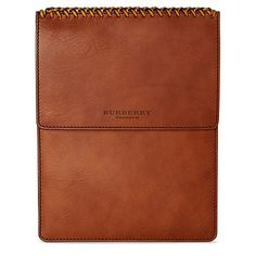 gift for him...BURBERRY PRORSUM Braided leather iPad case