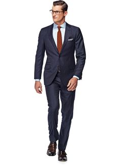 Suitsupply Suits: Soft-shoulders, great construction with a slim fit—our tailored, washed and formal suits are ideal for any situation. Business Outfits, Business Fashion, Suit Fashion, Mens Fashion, Suit Supply, Charcoal Suit, Black Leather Dresses, Gq Style, Pinstripe Suit