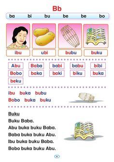 Preschool Writing, Preschool Learning Activities, Kindergarten Reading, Kids Learning, Activities For Kids, Reading Passages, Reading Comprehension, Malay Language, Early Childhood Program