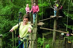 Try Go Ape for your London hen party