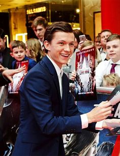Tom Holland at the European Premiere of Captain America Civil War April 26, 2016