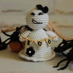 """Crochet Halloween garland Mantel decoration 🎃"""