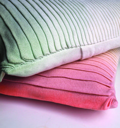 knitted cushion by STRIKKS.