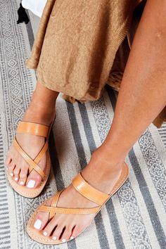 EGINA, Flat Leather Sandals for Women, Greek Slide Sandals of Natural Leather, Boho Handmade Beach Shoes Gladiator Sandals Outfit, Boho Sandals, Strappy Sandals, Slide Sandals, Beautiful Sandals, Leather Sandals Flat, Ancient Greek Sandals, Beach Shoes, Natural Leather